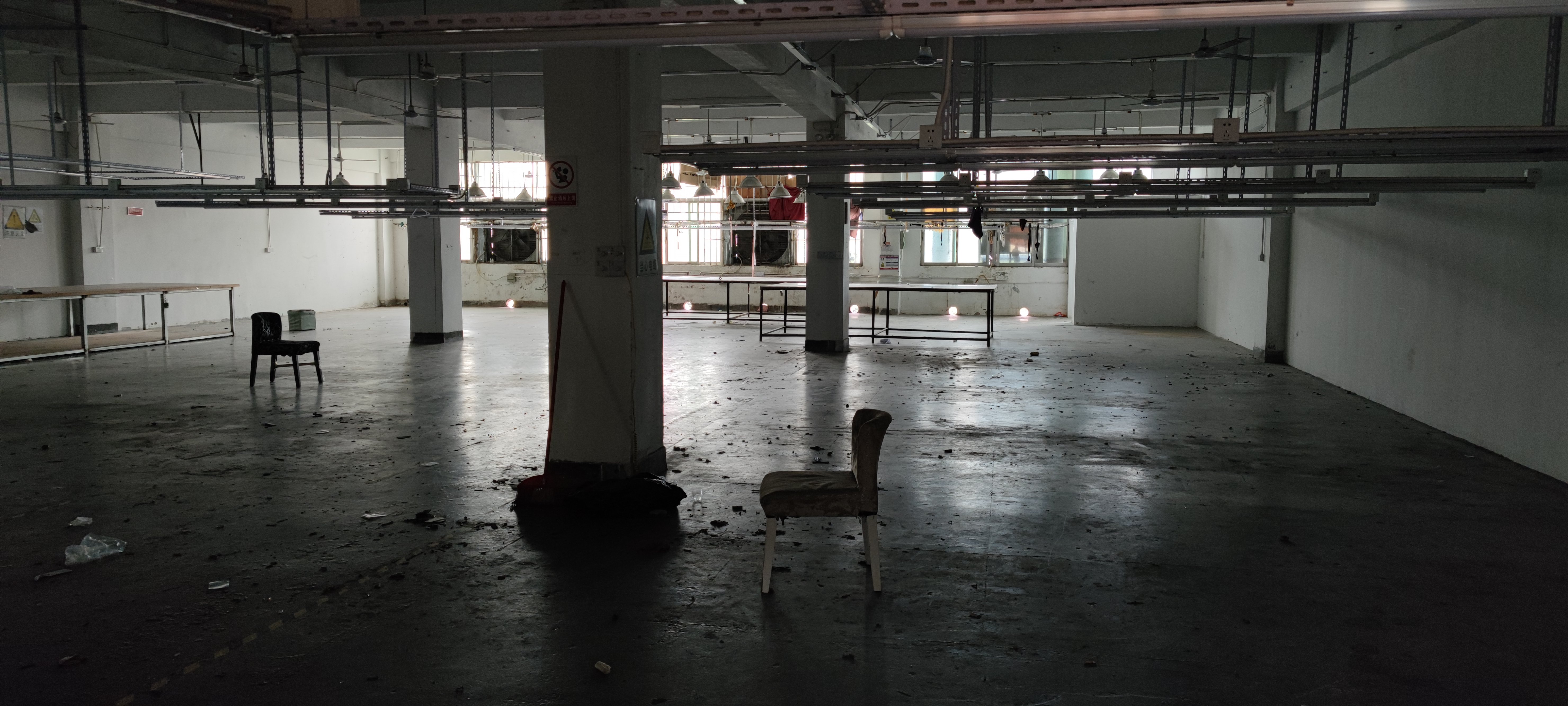 横岗塘坑地铁站二楼1000平厂房仓库出租招租分租