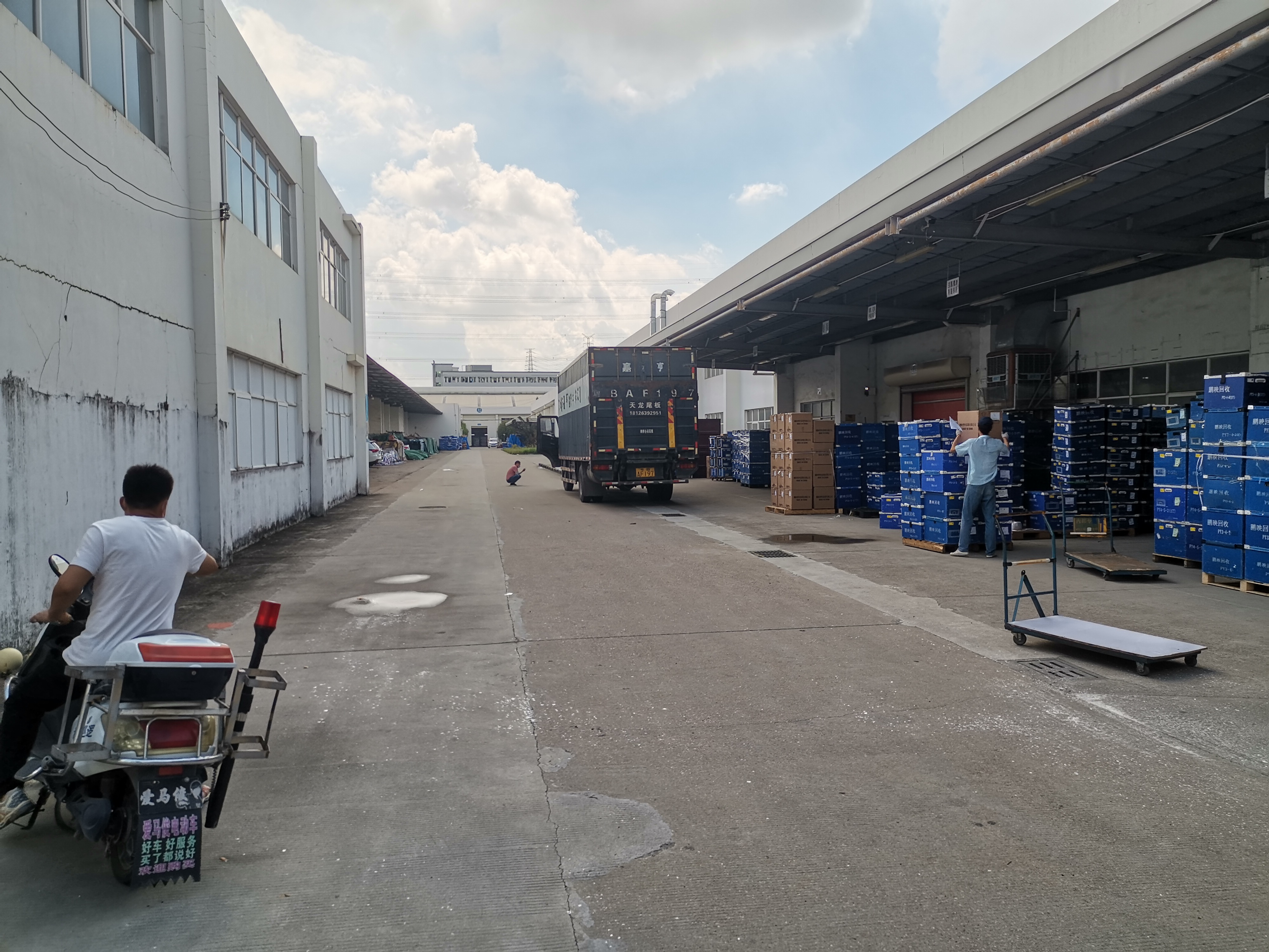 观澜新出厂房,12000平,物流仓库