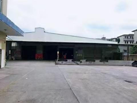 观澜靠龙岗区大型物流园整栋11000平带卸货平台仓库出租