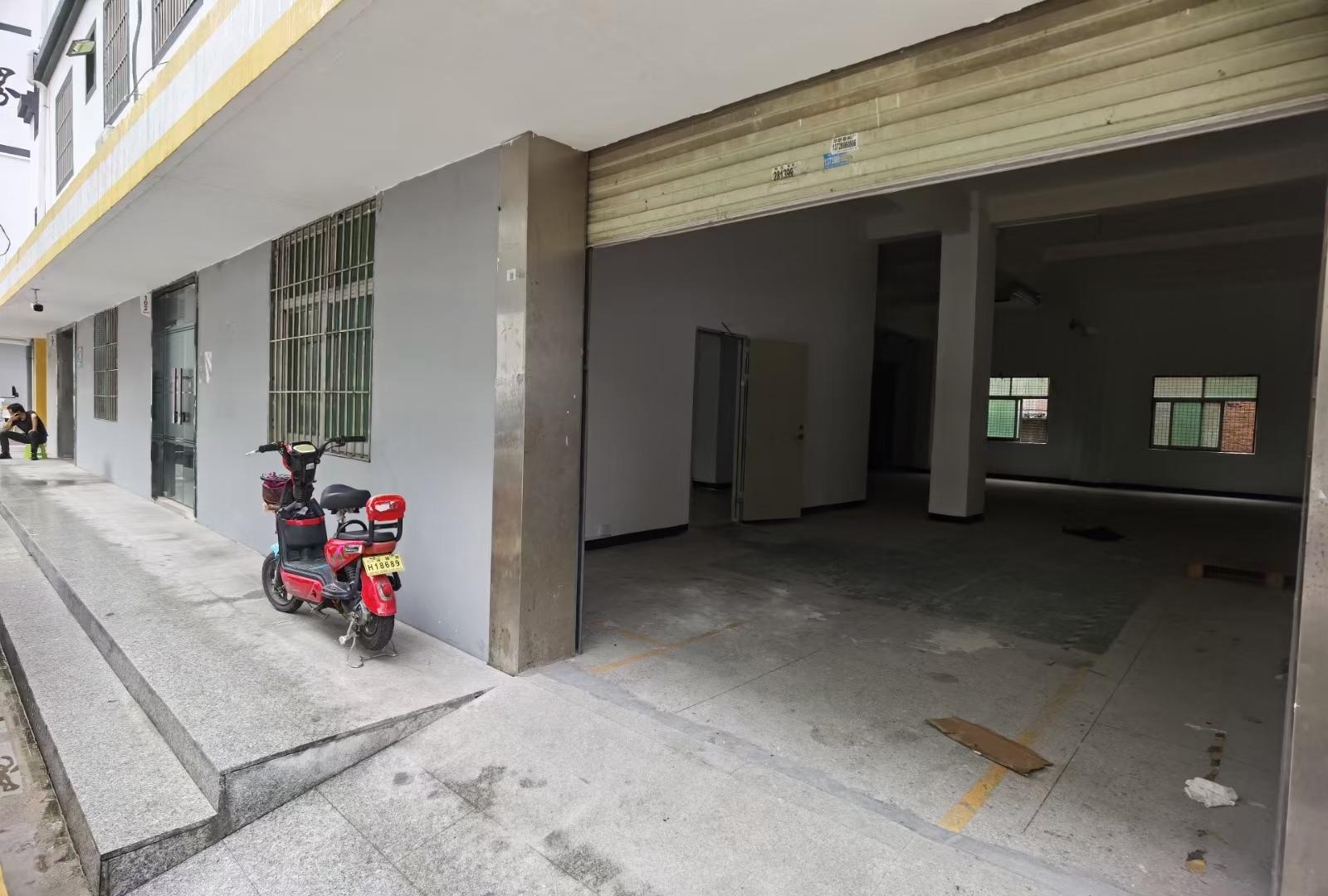 龙华大浪南路新出一楼,390平,可做物流,仓库,办公,