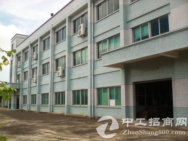 横沥镇独门独院标准厂房2300平,独立办公楼250平方。