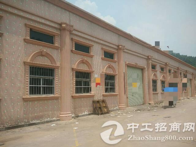 黄江镇龙见田村新建单一层900平一楼6米高适合噪音小行业