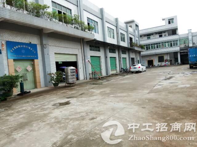 新出一楼六米高带牛角厂房1500平米。
