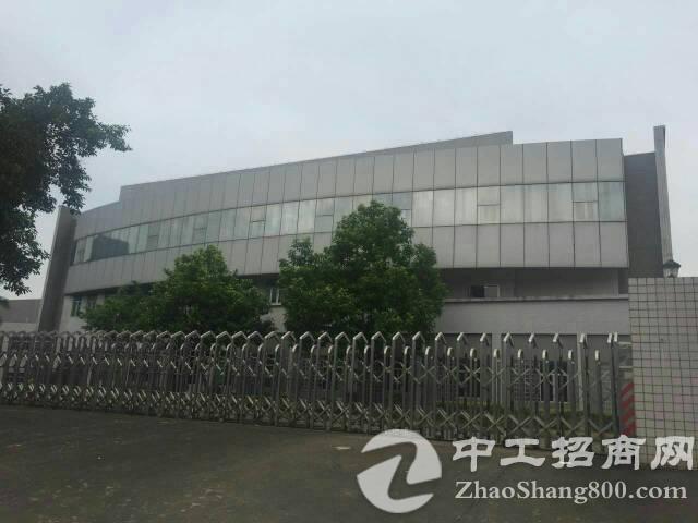 东莞靠深圳出售占地75亩的钢结构厂房