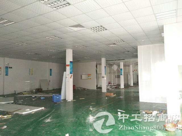 黄江镇中心租客分租单一层独栋厂房1400平