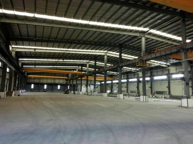 上沙米滴水9钢构1800+仓库饭堂200平米,