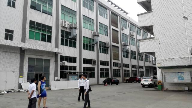 松岗谭头上市公司退出1-4层8400原房东红本厂房