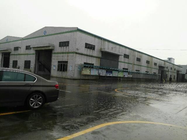 清溪靠塘厦大路边独栋钢构厂房出租1600平方米带2部5吨行车