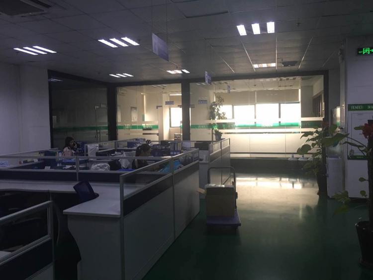 福永1500平米一整层带装修厂房出租