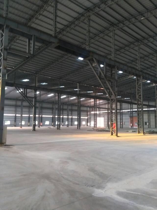 新塘镇标准单一层钢构物流仓库出售