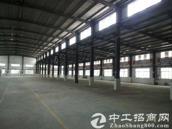 横沥单一层钢构厂房4500平米超低价出租