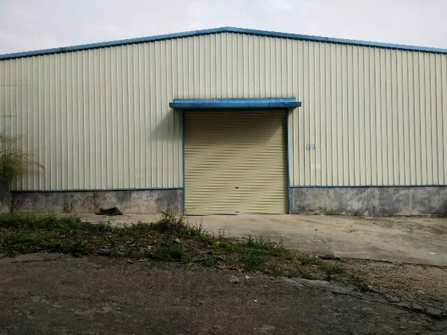 原房东1000平米钢构厂房六米高出租