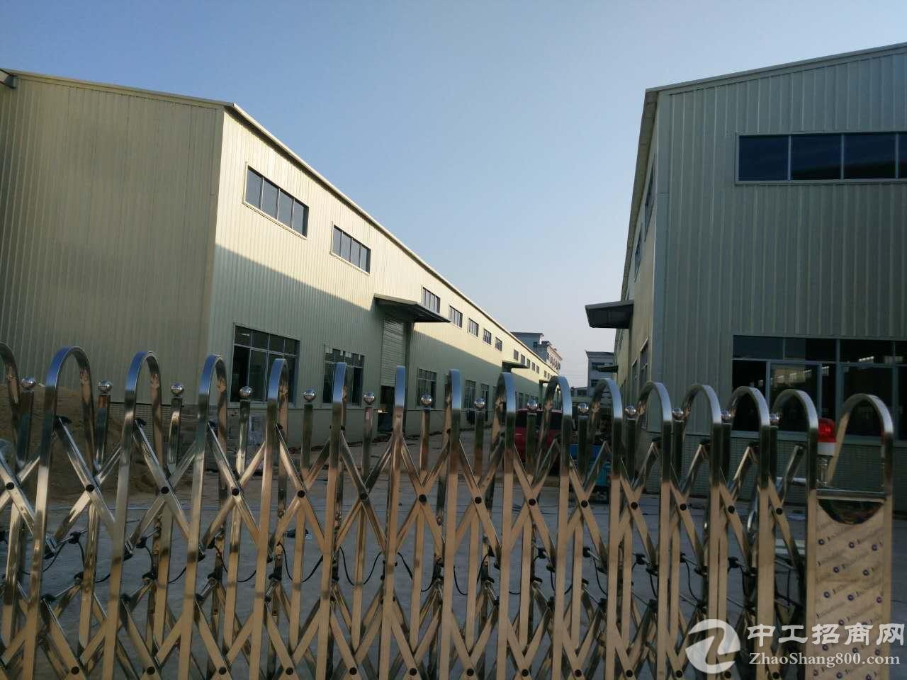 横沥新出独院单一层钢构厂房8000平方招租