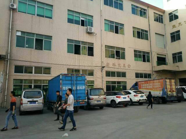 黄江镇中心附近工业园厂房新出标准厂房一楼1400出租