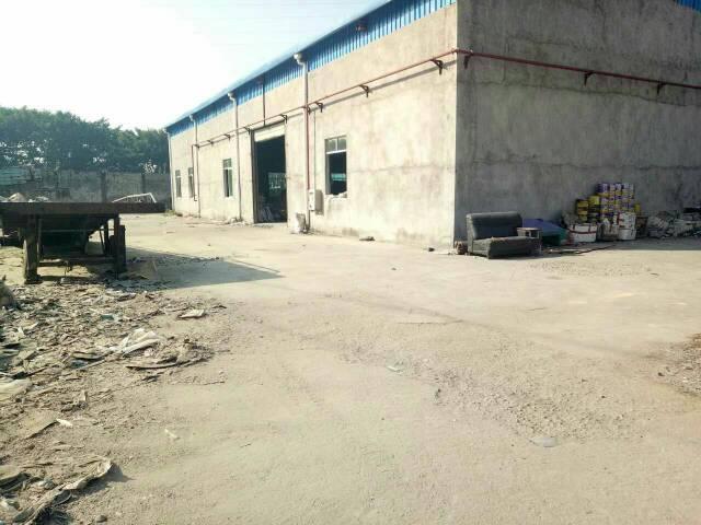 横岗六约深坑新出独院钢构厂房1200平米出租