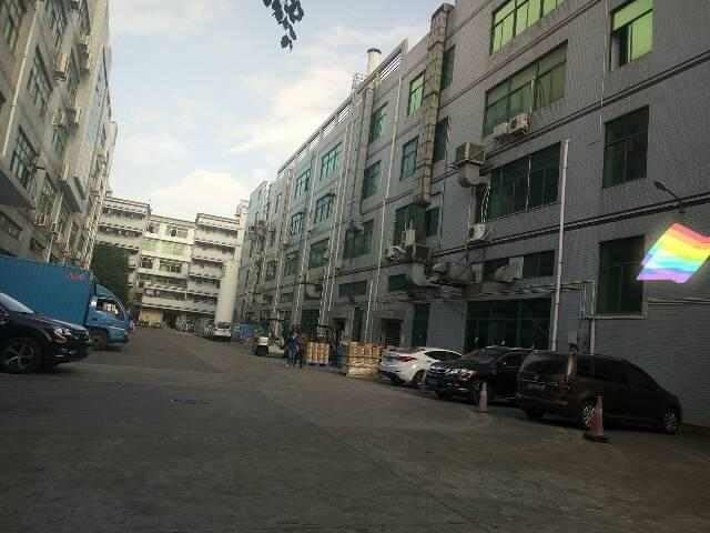 福永沿江高速独院1-4层7500平米厂房出租