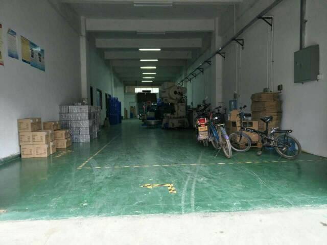 松岗燕川工业区一楼500平米带装修厂房出租