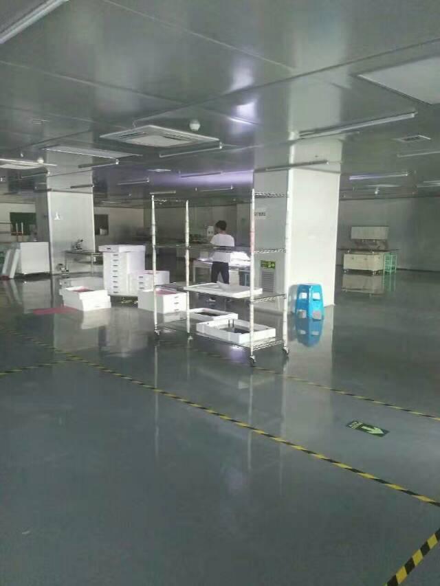松岗大田洋楼上整层2000平方厂房出租有装修