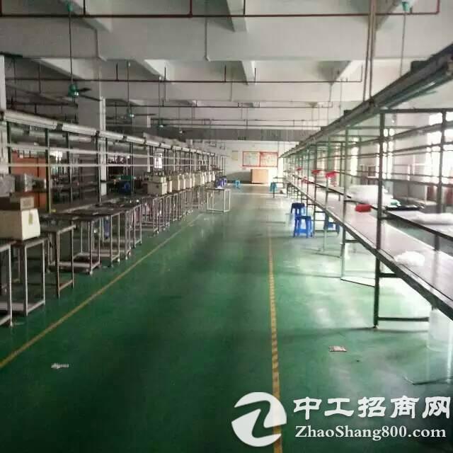 高埗冼沙三楼厂房1600平米出租,水电齐全