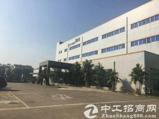 高速出口130亩建筑42000国有证件厂房出售