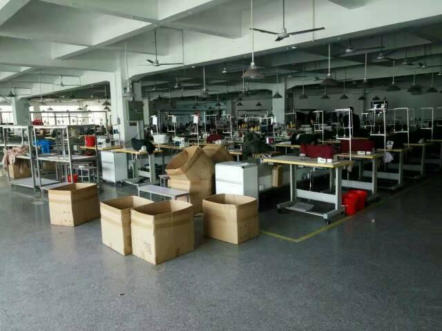 虎门怀德全新厂房1000平方招租,现成制衣设备,水电齐全,