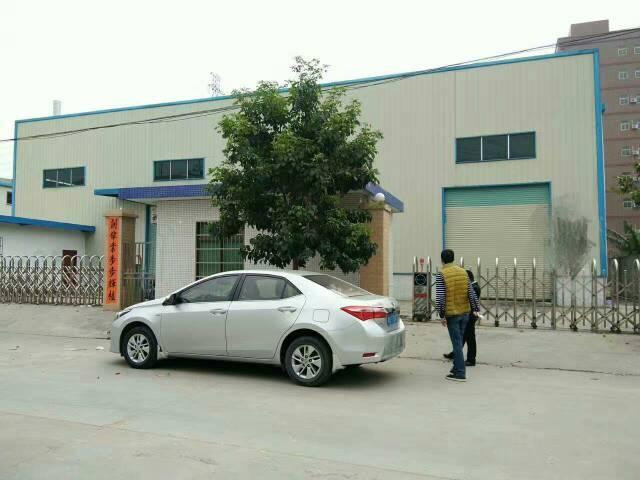 大朗镇杨涌村独院厂房分租一栋钢结构1300平米,带地坪漆