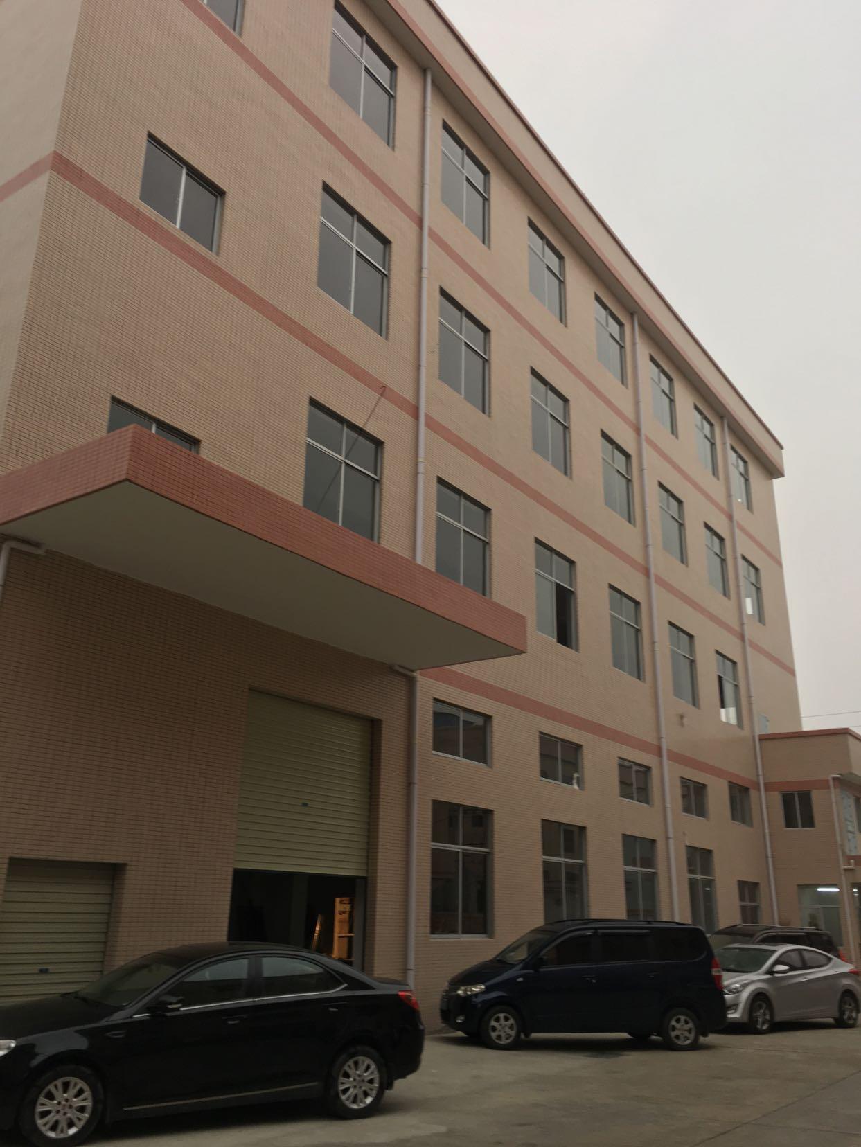 桥头镇新出全新标准厂房6000平方一栋四层分租