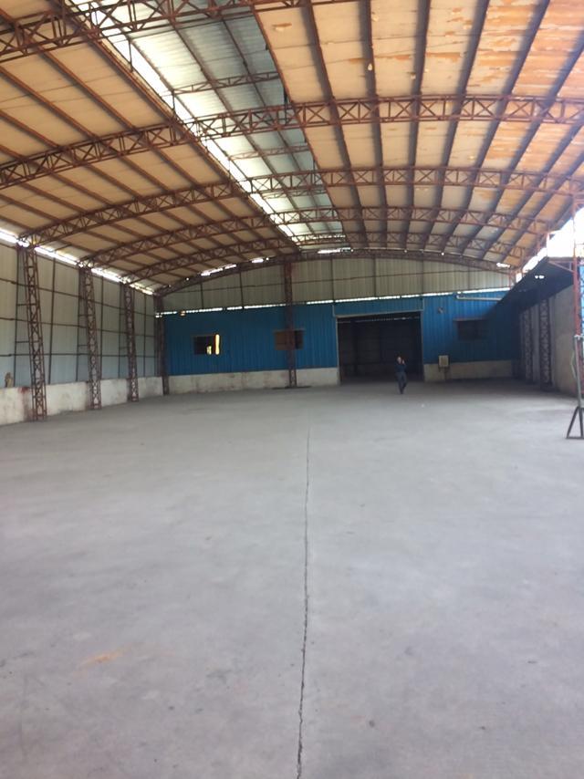 黄江新出钢构厂1700平方可分出500做喷漆