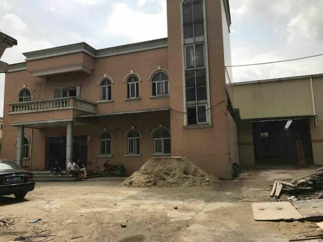 大朗镇新马莲独院单一层钢结构厂房出租,可分租