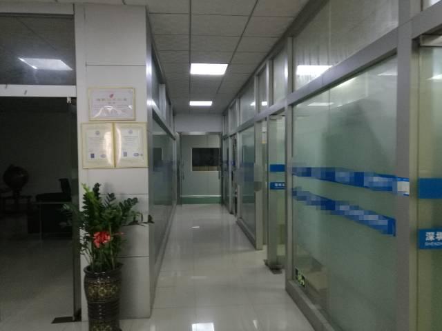 沙井新出2楼1500平带无尘车间带豪华前台办公室