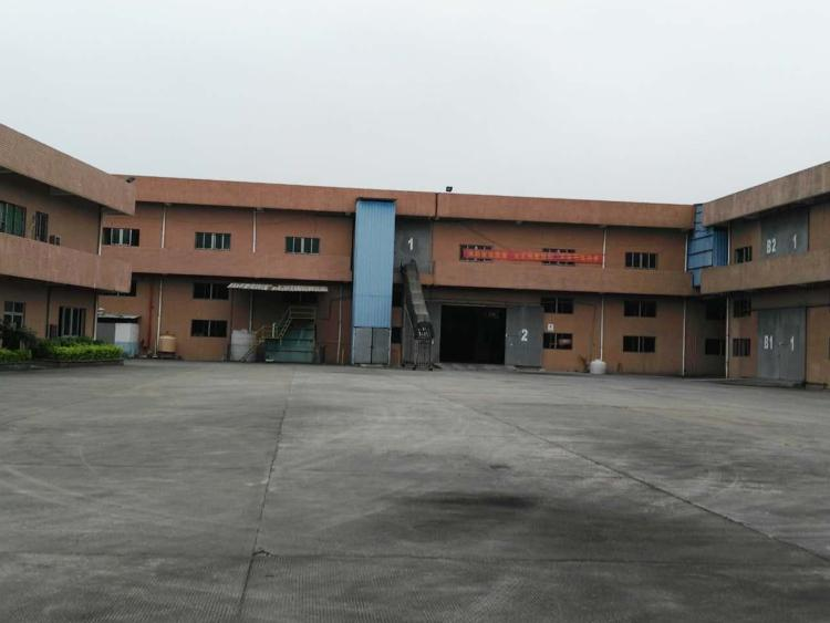寮步华南城独院厂房分租一栋2层15000方,宿舍5000方