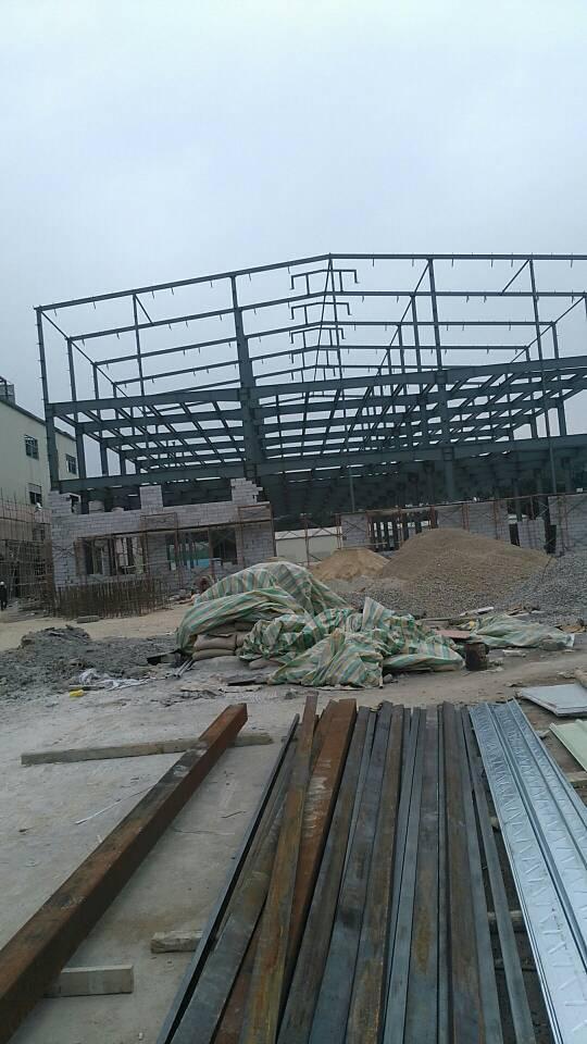 超靓全新钢构厂房