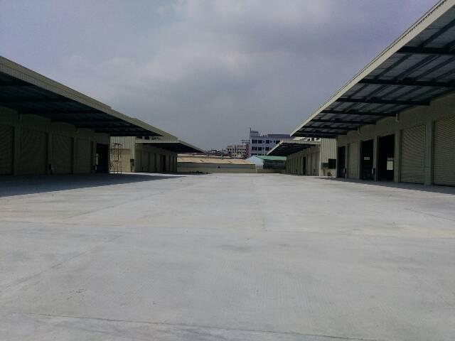 广深高速路口附近全新物流仓库12000平米,独门独院