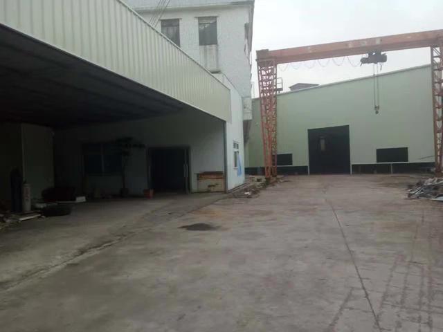黄江仅此独院钢构厂房2850平方,滴水高10米,厂房2100平方,宿舍