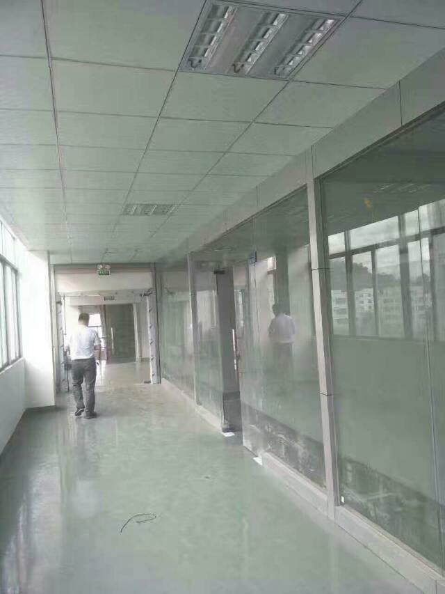 光明新区将石新出楼上1200平带装修入驻即可生产