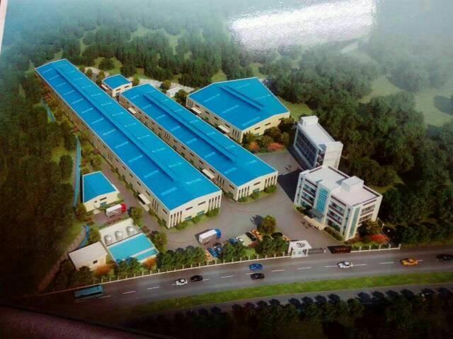 独院15000平米单一层钢构厂房出租