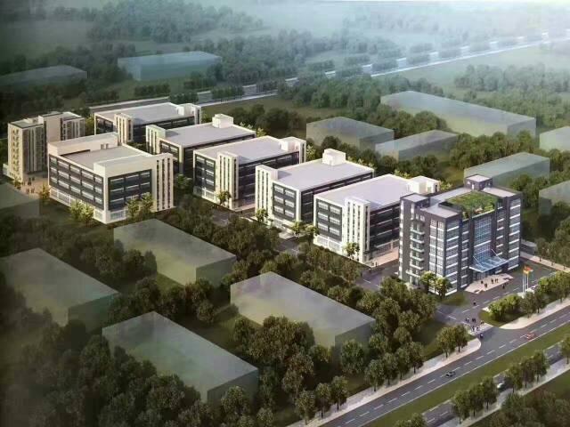 全新在建工业园 500平方起租 提前预订请来电