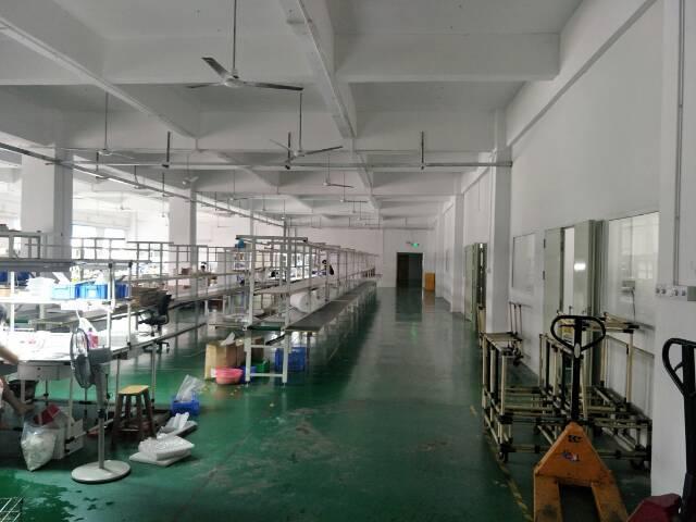 福永宝安大道边楼上带装修厂房1800平米出租-图4