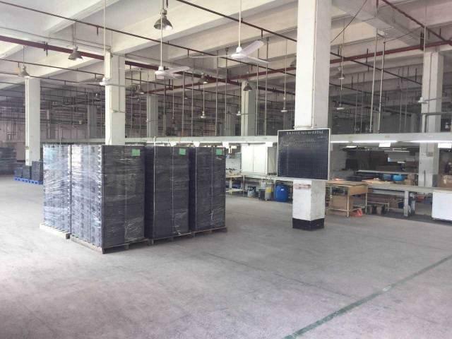 沙井宝安大道后亭地铁口边新出独院3层5500平米厂房招租