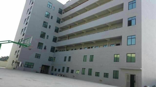 虎门新出独栋厂房8000方,形象非常漂亮水电齐全,周边人气旺