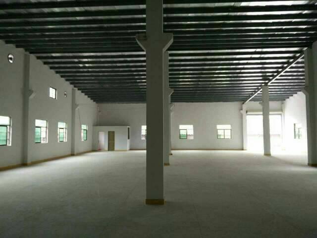 厚街新岀全新钢构800平米小独院厂房出租