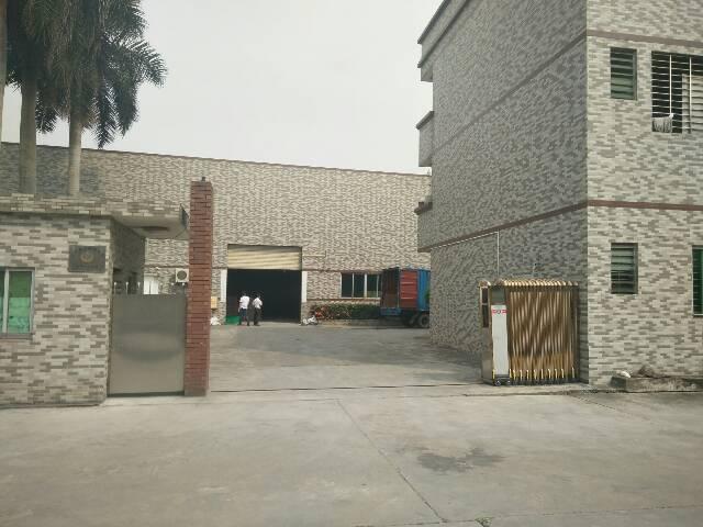虎门镇口3000平方单一层经典独院厂房出租,9成新,高度9米