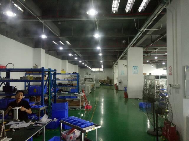 福永大洋田工业区楼上1500平米金装修厂房出租-图3