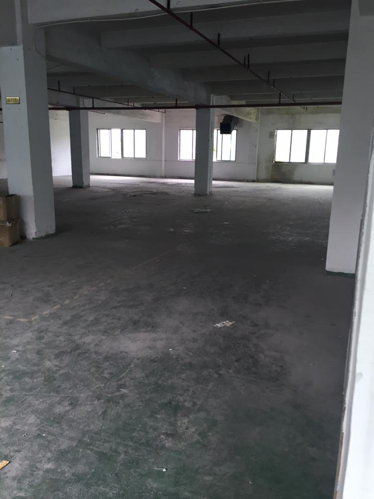 东莞横沥靠东部快线附近标准厂房三楼900平方招租