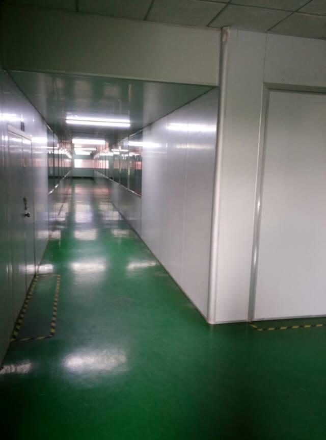 观澜梅观高速口库坑大型工业园楼上1500平米厂房出租