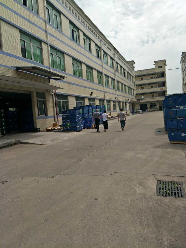 独门独院厂房1-3层5500平米,宿舍1600平米,空地超大