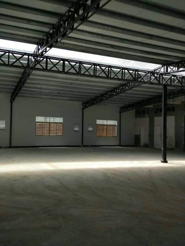 厚街新岀单层9米带牛角厂房招租
