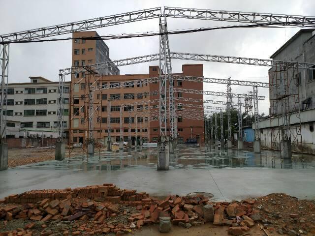 大朗富民大道边原房东新建钢构厂房1350平方出租
