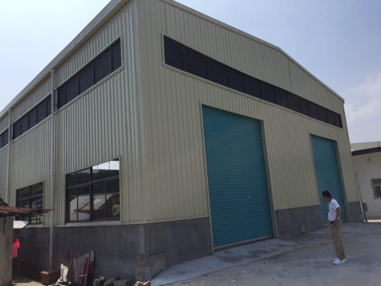 黄江新建全新钢结构厂房