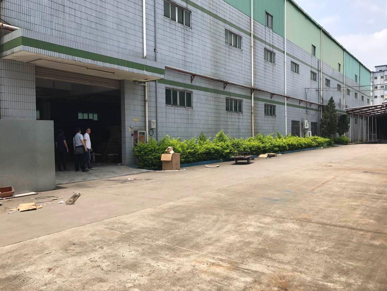 4万平钢结构厂房高10米,可分租
